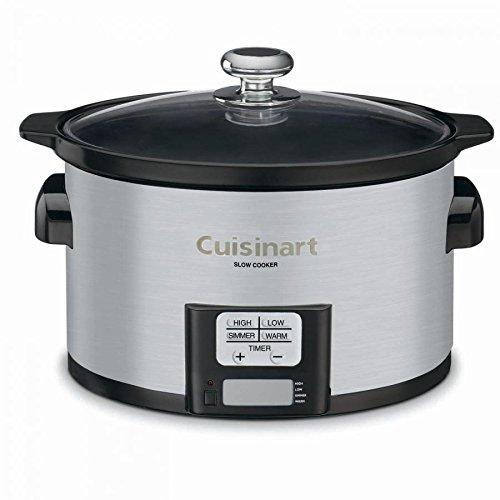Cuisinart 3.5Qt Programmable Slow Cooker, Multicolor