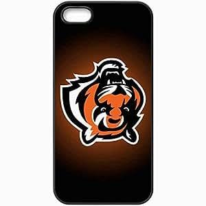 Personalized iPhone 5 5S Cell phone Case/Cover Skin Nfl Cincinnati Bengals Sport Black
