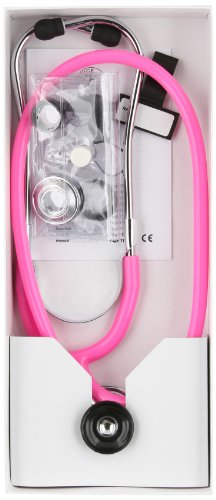 Prestige Medical Spraguelite Stethoscope, Hot Pink