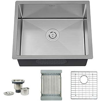 Amazon Com Torva 22 Undermount Stainless Steel Kitchen Sink 16