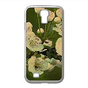 Branch Bloom Watercolor style Cover Samsung Galaxy S4 I9500 Case (Spring Watercolor style Cover Samsung Galaxy S4 I9500 Case)