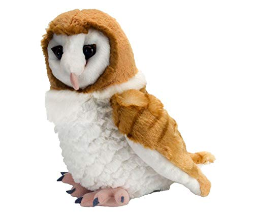 Price comparison product image Wild Republic Barn Owl Plush,  Stuffed Animal,  Plush Toy,  Gifts for Kids,  Cuddlekins 12 Inches