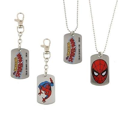Marvel Comics - Juego de caja de Spiderman, 1 etiqueta para ...