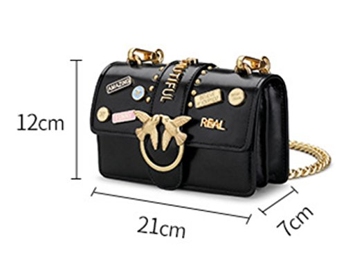 Women Shoulder Mini Wide One Crossbody Bag Strap Addora Genuine Leather Shoulder Yellow White q6IOwf
