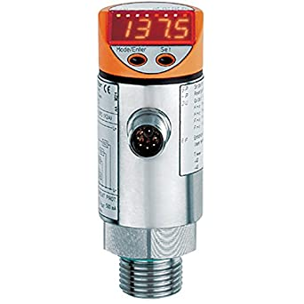 IFM Efector TN7531 Electronic Temperature Sensor, -40 to 150 degrees C/-40  to 302 degrees F Measuring Range