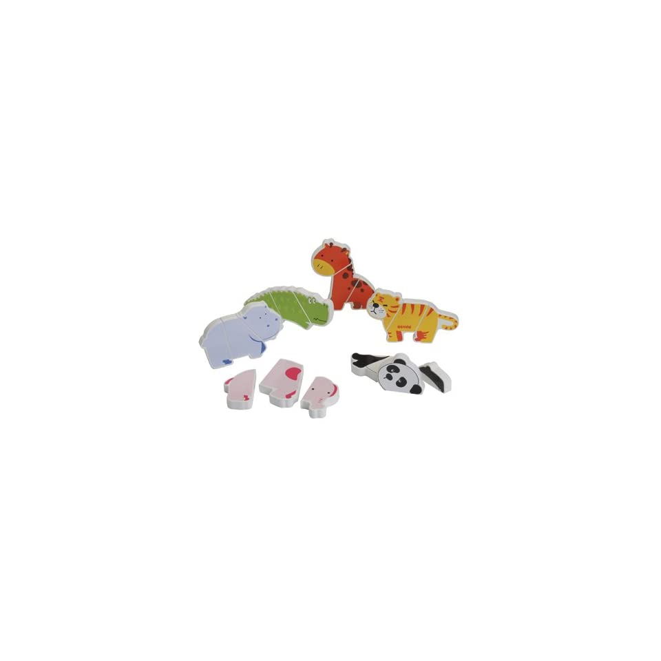 Wood Magnetic Animals Toys For Kids