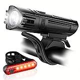 Ascher Ultra Bright USB Rechargeable Bike Light