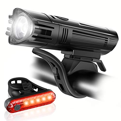 bike lights led usb rechargeable - 3
