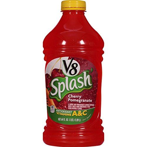 V8 Splash, Cherry Pomegranate, 64 Ounce (Pack of - Splash Pomegranate