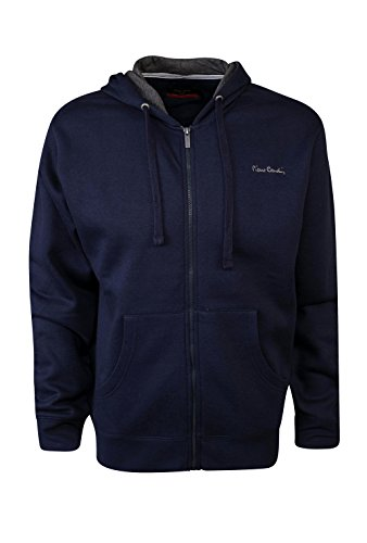 Pierre+Cardin+Mens+New+Season+Full+Zip+Hooded+Sweatshirt+%28XL%2C+Navy%29