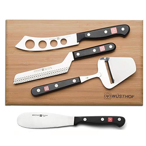 Wusthof Gourmet 5-Piece Cheese Knife Set