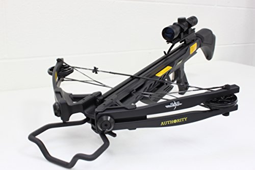 Southland Archery Supply SAS Authoirity 175lbs Compound Crossbow 4x32 Scope Package