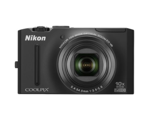 Nikon Coolpix S8100 12.1 MP CMOS Digital Camera with 10x ...