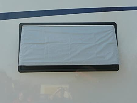 DAS ORIGINAL 127 x 54 Fensterabdeckung//Sonnenschutz f/ür Wohnmobil und Wohnwagen