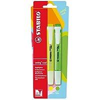 Highlighter - STABILO swing cool Yellow/Green