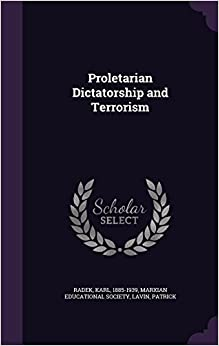 Proletarian Dictatorship and Terrorism