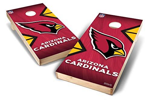 PROLINE NFL Arizona Cardinals 2'x4' Cornhole Board Set - Wild Design ()