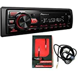 Pioneer Digital Media Receiver with Built-in Bluetooth and Front USB and AUX Input CERWIN VEGA CUM2M6MIC AUDIO CABLE