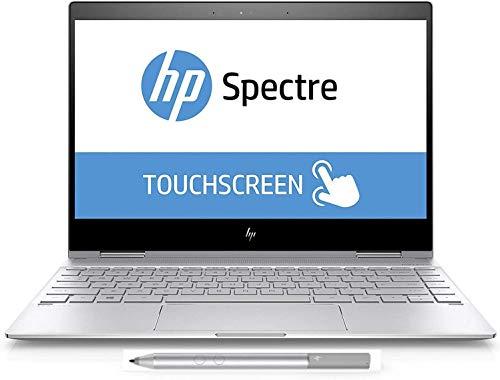 "Newest HP Spectre x360-13t Quad Core(8th Gen Intel i7-8550U, 16GB DDR4, 512GB PCIe NVMe SSD, IPS micro-edge Touchscreen Corning Gorilla, Windows 10 Ink)Bang&Olufsen 13.3"" 2-in-1 Convertible - Dark Ash"