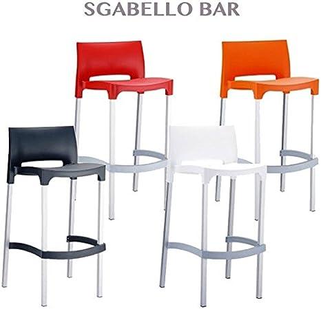 Taburete Bar Restaurante Silla para Muebles Exterior jardín de Aluminio Profesional: Amazon.es: Hogar