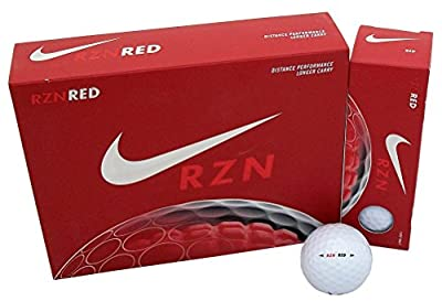 NIKE 6 Dozen NEW RZN RED Distance Performance Golf Ball 72 Balls Total