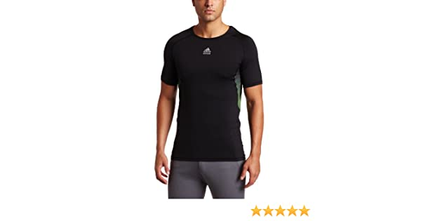 Amazon.com: adidas Mens TECHFIT Hero Shirt (Black, XXX-Large): Sports & Outdoors