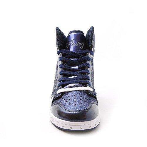 Sneaker High-top E Scarpa Da Ballo Di Alta Qualità Con Glitter Glam Per Donne