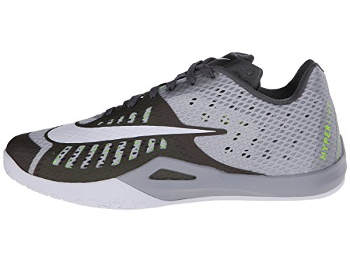 drk Blanco pr Gris Pltnm Gry White wlf Basket Gry Chaussures Hyperlive Nike De Homme Y7UZUq