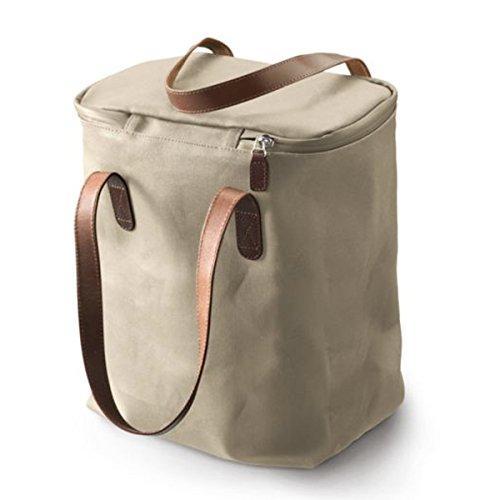 Brooks Camden Tote Korb Tasche Sand Leder kompatibel mit Hoxten Korb, 80040506