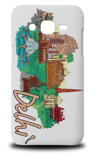 Delhi India Hard Phone Case Cover for Samsung Galaxy J2 (2015) -  Foxercases, 3473-SG-J2-15