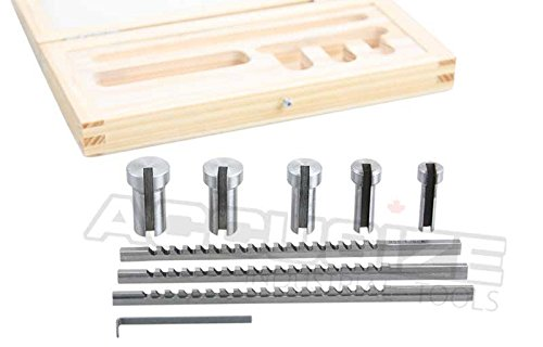 Accusize - No.00 HSS Keyway Broach Precision Sets In Fitted Wooden Box, 5100-0001 by Accusize Industrial Tools (Image #2)