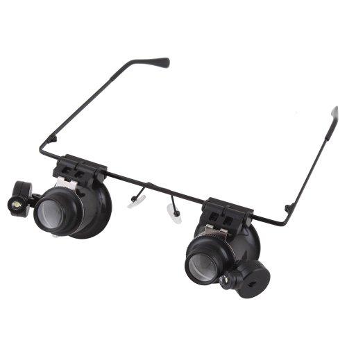 Binoculus Magnifier Eyewear Style Light