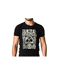 Suicide Silence Mitch Lucker Cyclops Tribute Poster T-Shirt - Deathcore