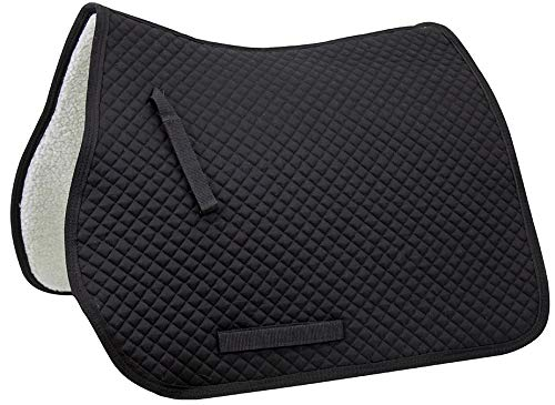 - Derby Originals All Purpose Quilted English Saddle Pad with Fleece Lining