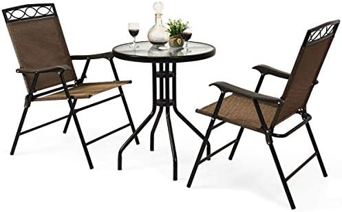 S AFSTAR 3-Piece Bistro Set