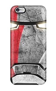Awesome Charming YaYa Defender Tpu Hard Case Cover For Iphone 6 Plus- Iron Man Mask