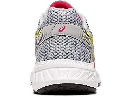 ASICS Women's Gel-Contend 5 Running Shoes, 7M, Piedmont Grey/Laser Pink