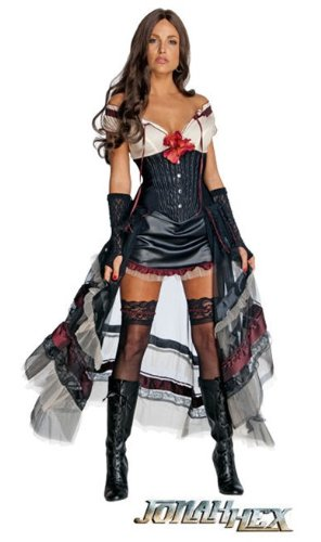 Lilah Costume - X-Small - Dress Size (Hooker Costumes)