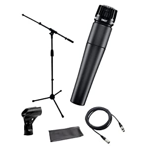 Shure SM57-LC Instrument/Vocal Cardioid Dynam...
