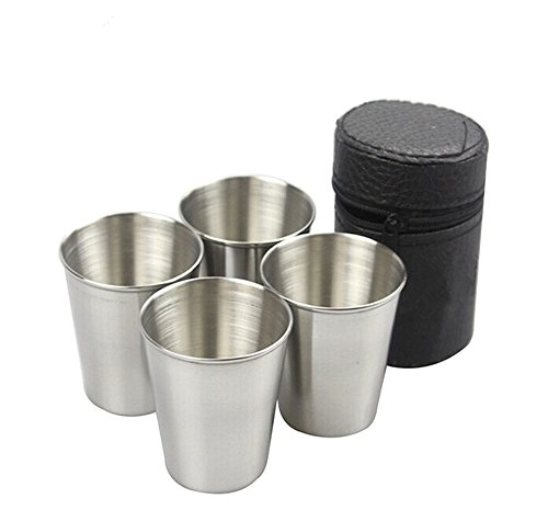 Yueton Stainless Drinking Leather Carrying