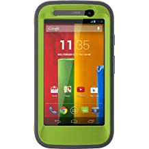 OtterBox DEFENDER SERIES for Moto G (1st Gen ONLY) - Retail Packaging - KEY LIME (GLOW GREEN/SLATE GREY)