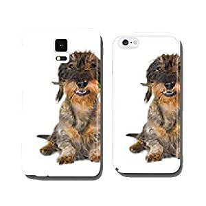 Dachshund with Rose in the catch cell phone cover case iPhone6 Plus