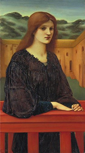 Oil Painting 'Sir Edward Coley Burne-Jones - Vespertina Quies,1893' Printing On High Quality Polyster Canvas , 16x29 Inch / 41x73 Cm ,the Best Bedroom Gallery Art And Home Artwork And Gifts Is This Best Price Art Decorative Prints On Canvas (European Closet Price List)