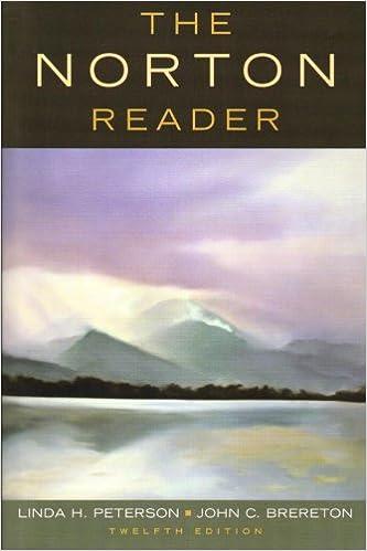 The norton reader 12th edition free