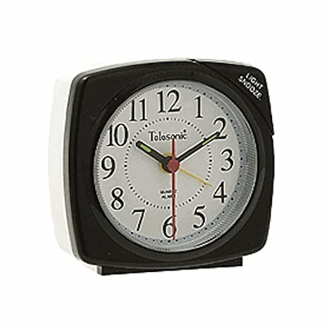 Amazon.com: Quiet Sweep – Reloj despertador de cuarzo, color ...