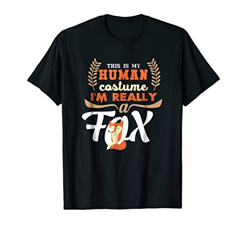 Funny Fox Tees - My Human Costume T-Shirt