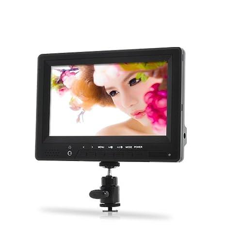 BW® 7 Pulgadas HD en la cámara réflex Digital Monitor con 1080p ...