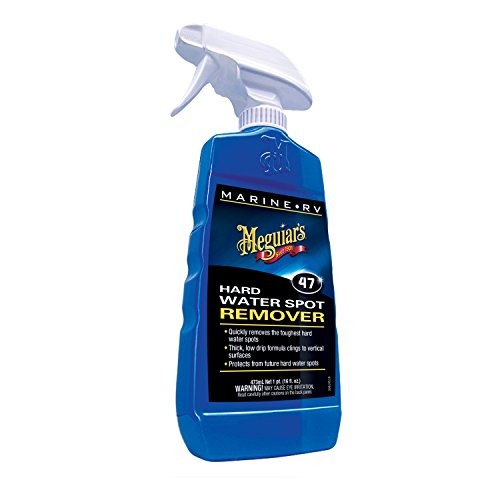 Meguiar's M4716 Marine/RV Hard Water Spot Remover, 16 - Solenoid Fuel Performer