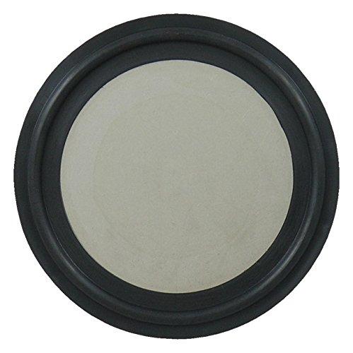(EPDM Tri-Clamp Orifice Plate Gasket, Black - 1/2