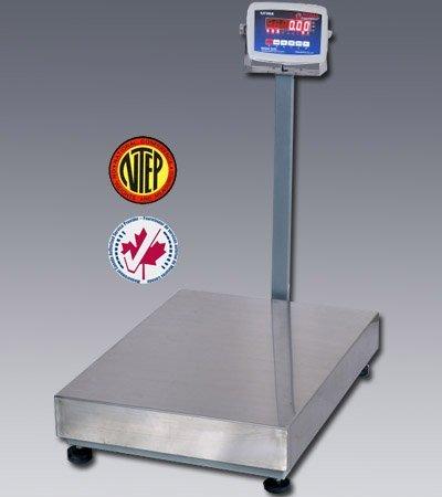 "100 LBS x 0.02 LBS Optima Scale OP-915 NTEP IP 65 Mild Steel Bench Scale 12"" x 12"" Platform NEW !!!"